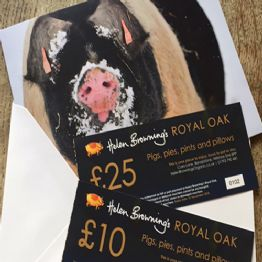 Royal Oak Gift Vouchers